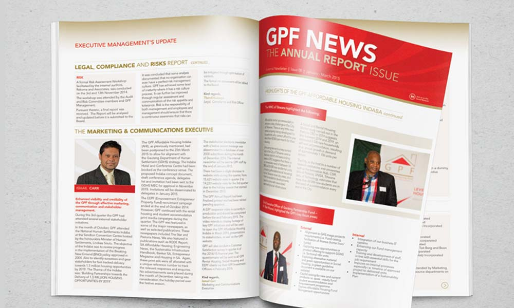 GPF annual report
