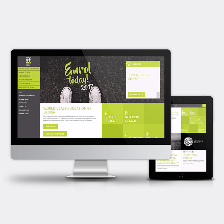 Greenside Design Center Responsive Website