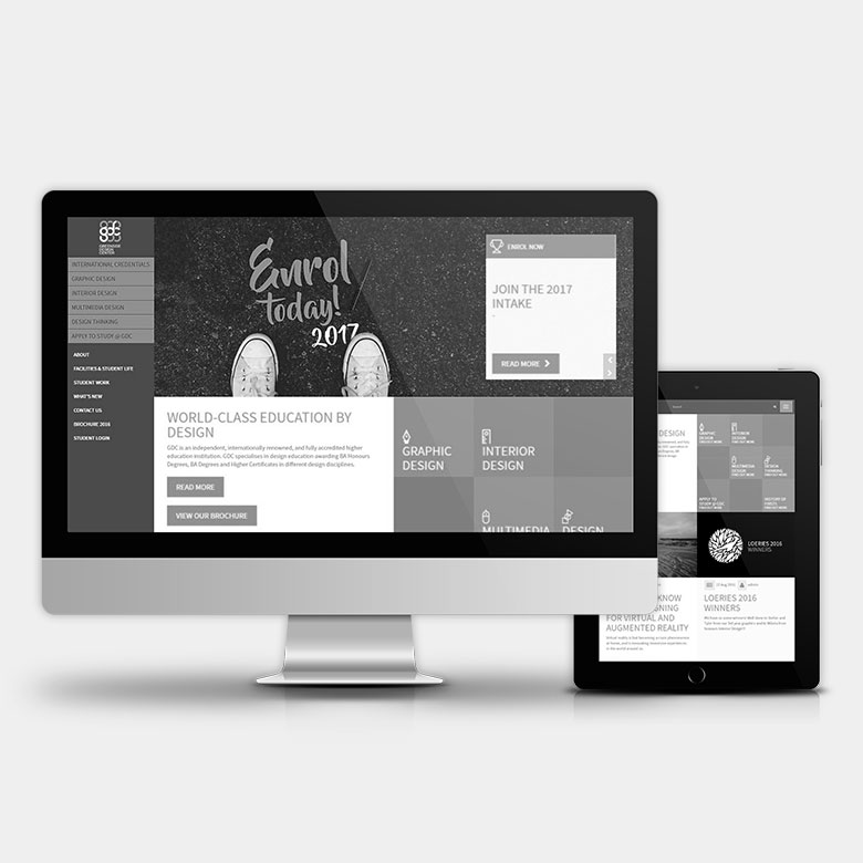 Greenside Design Center Responsive Website