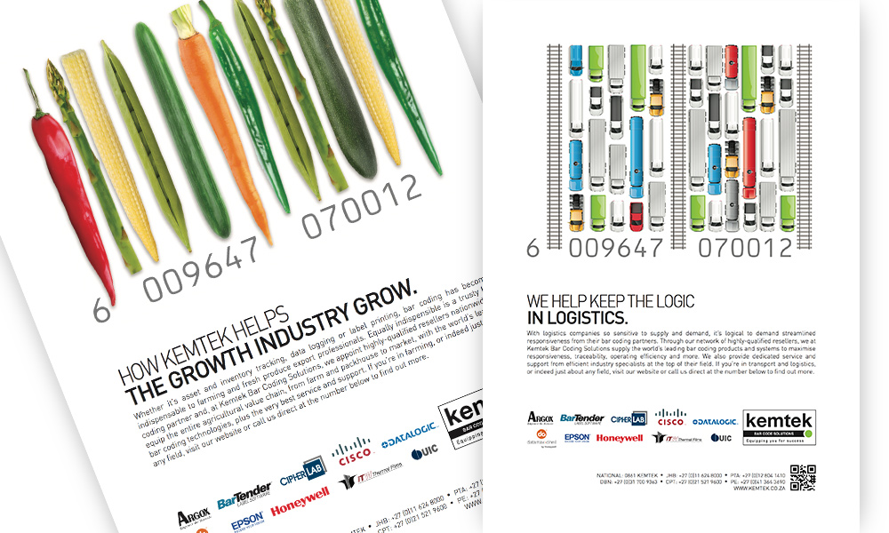 Kemtek Barcode Adverts