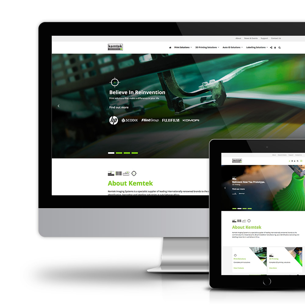 Kemtek Responsive Website